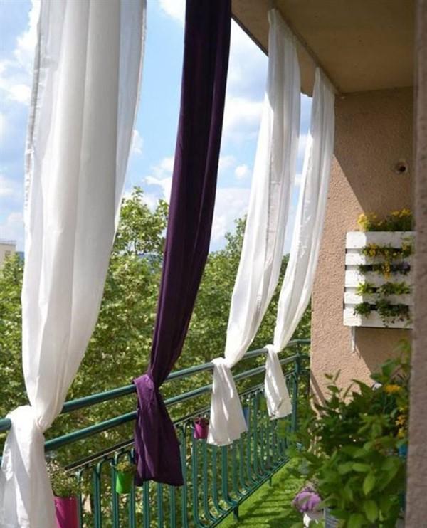 Balcony Curtain Ideas Outdoor Privacy, Outdoor Curtains For Balcony
