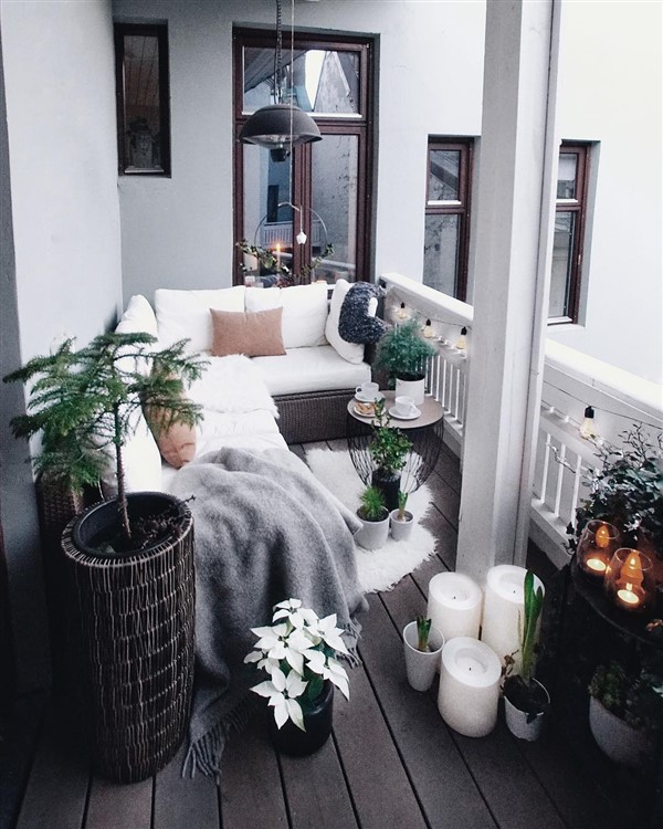 27 comfy balcony ideas for small apartment - unique balcony & garden decoration and easy diy ideas
