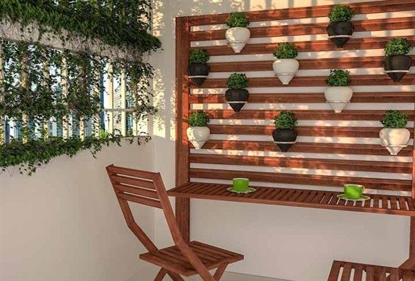 Balcony Wall Vertical Ideas