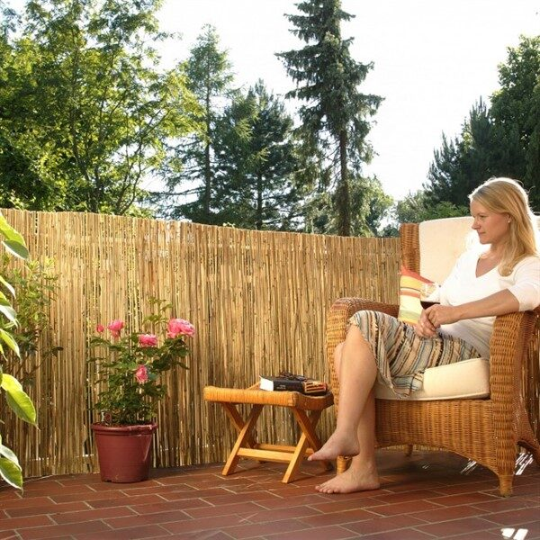 Bamboo Fence Ideas For Outdoor Privacy