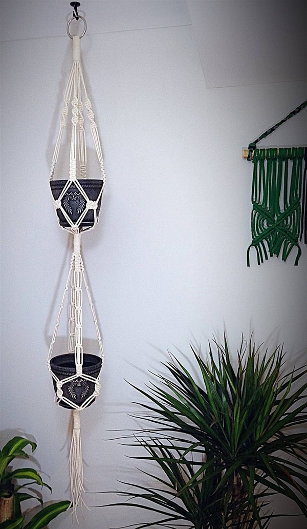 80 Fantastic Diy Macrame Plant Hanger Ideas Unique Balcony Garden Decoration And Easy Diy Ideas