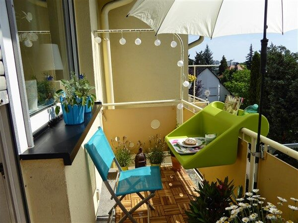 Useful Tables for Small Balcony