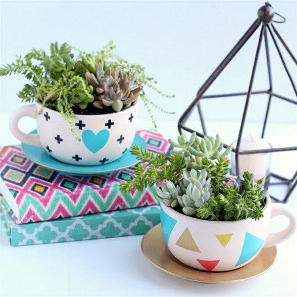 58 Cute Teacup Garden Ideas