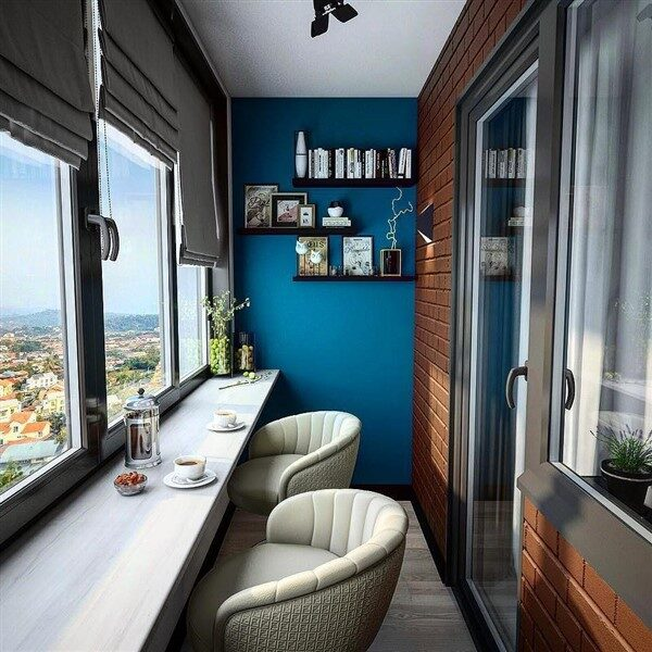 Balcony Home Office Workroom Ideas