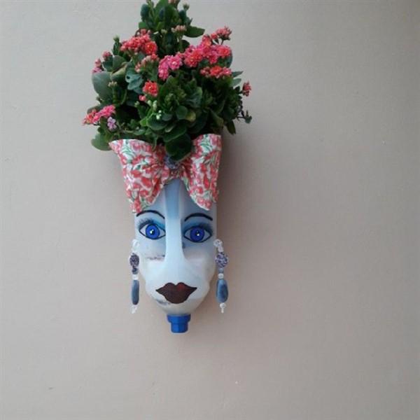 Milk Jug Planters With Faces Eco Friendly Diy Ideas Balcony Decoration Eco Friendly Garden Ideas