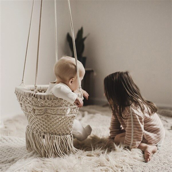 Pretty Macrame Baby Hammock Swing Ideas