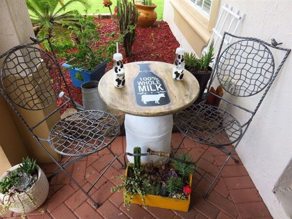 44 Useful Repurpose ideas For Vintage Milk Can