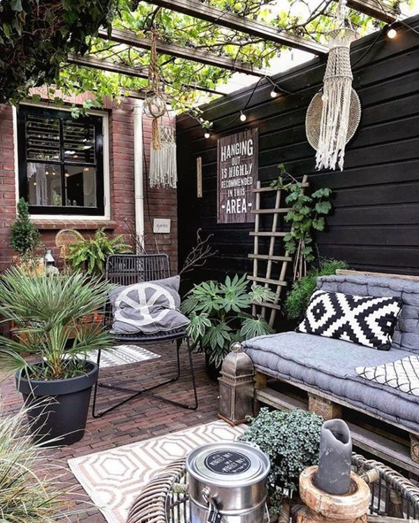 24 Handy Patio Pallet Furniture Ideas Unique Balcony Garden Decoration And Easy Diy Ideas