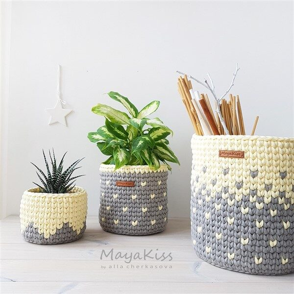 Crochet Planter Cover Pattern: Outfit Styles for Plants
