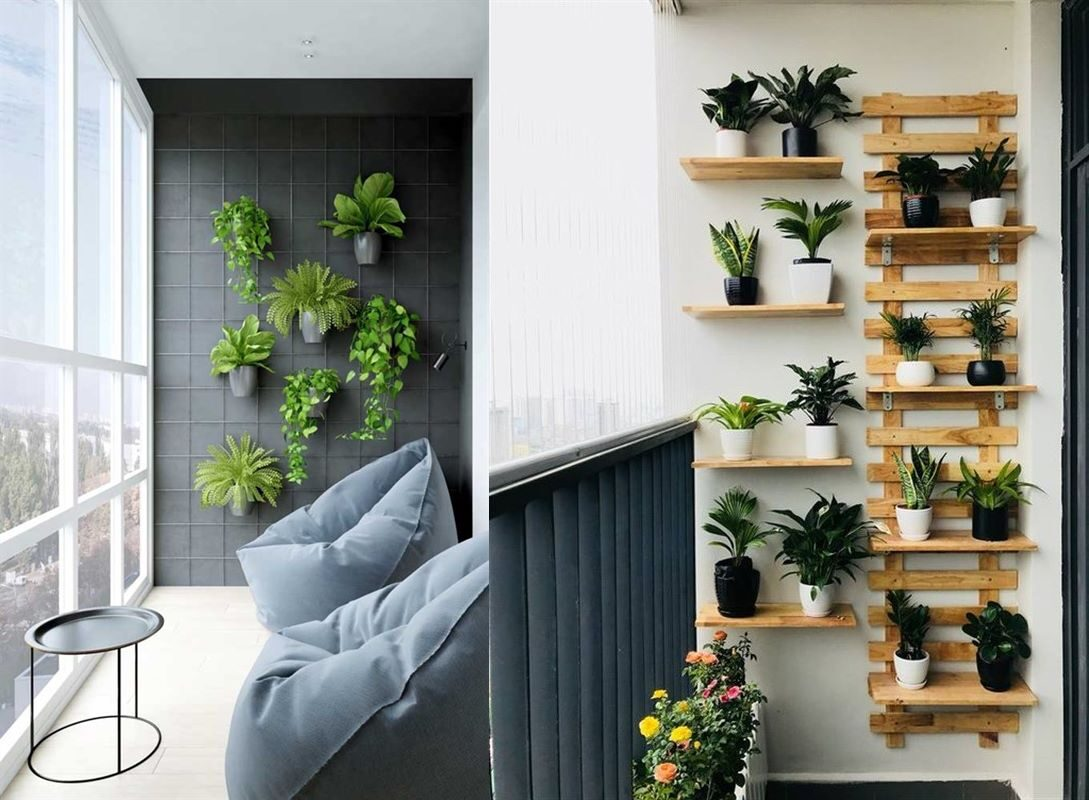 Solution Ideas for Small Balcony: Wall Planter