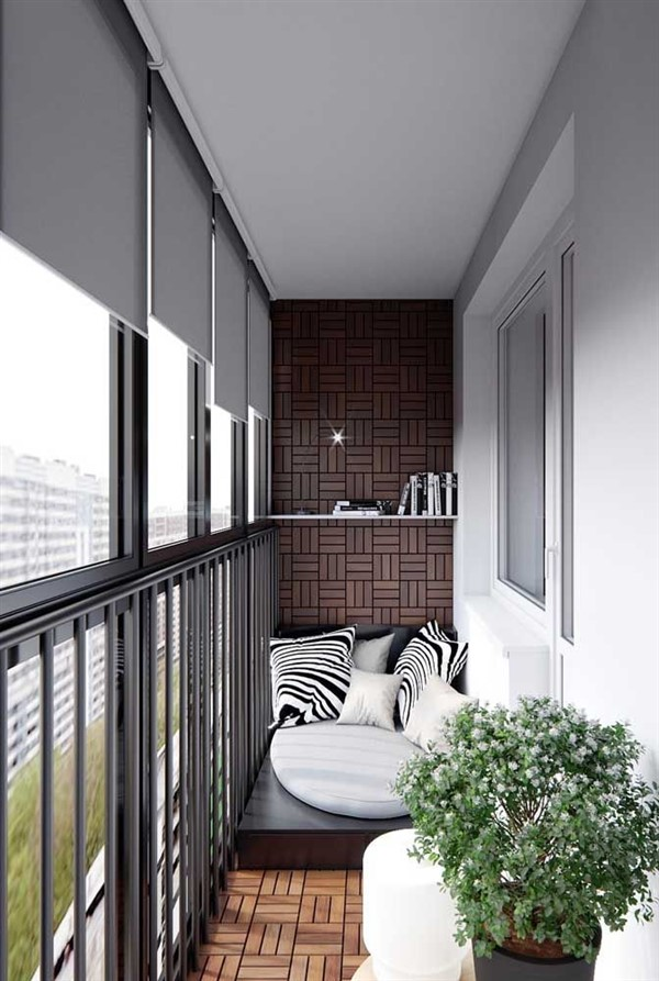 How To Decorate Long Narrow Balconies Unique Balcony