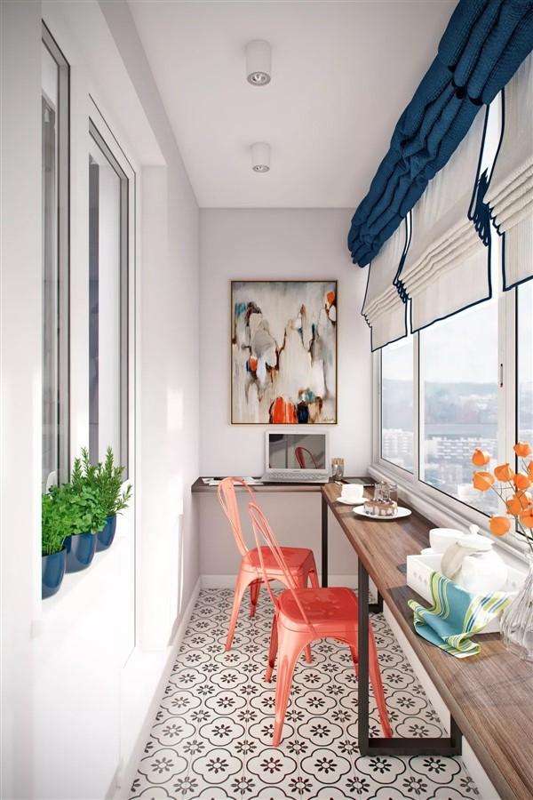 How To Decorate Long Narrow Balconies Unique Balcony