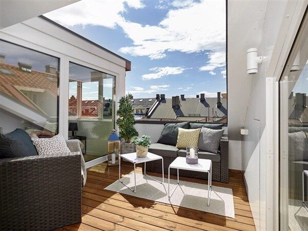 Small Roof Terrace Ideas for Apartments