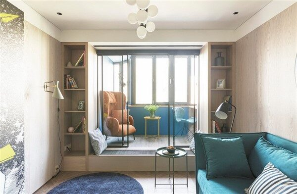 Tiny Livable Areas: Small Apartment Balconies