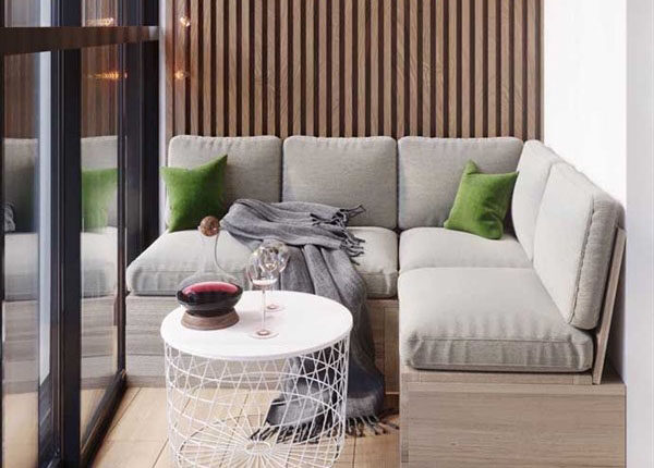 Cozy Small Apartment Balcony Decoration Ideas