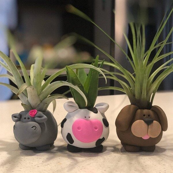 Elegant Animal Planters For Indoor & Outdoor Decors