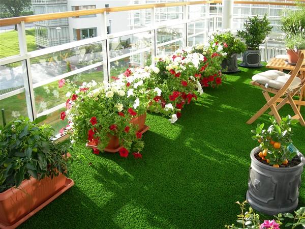 Balcony Artificial Grass Real Like Floor Ideas Balcony Decoration Eco Friendly Garden Ideas