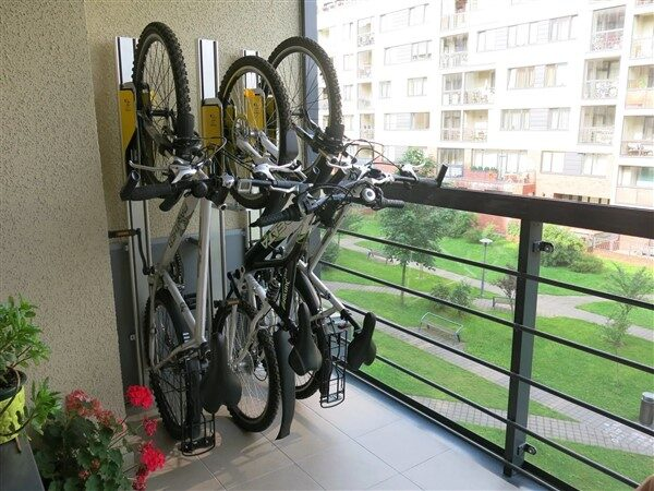 Balcony Bike Storage Ideas to Protect Bicycles From Thieves
