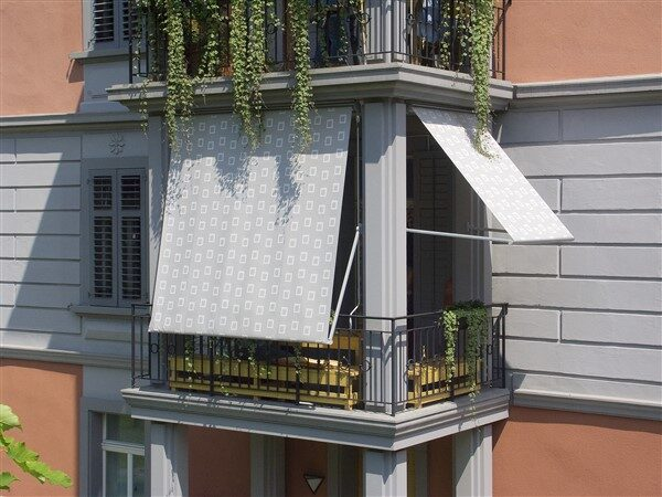 Balcony Privacy Ideas: Curtains, Tarpaulins, Bamboo Blinds, Sailor's Hammock