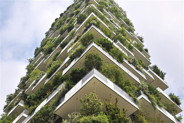 Vertical Green Buildings: Eco-Architecture Project