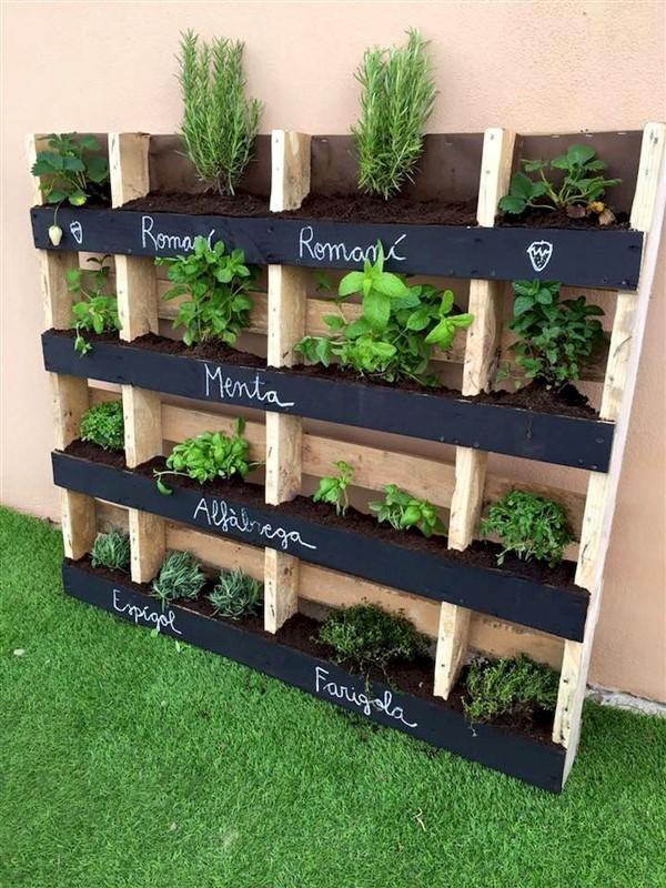 Cleverly Designed Wooden Pallet Planter Ideas - Unique ...