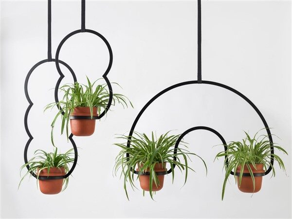 Metal Plant Hangers: Glamourous Accessories