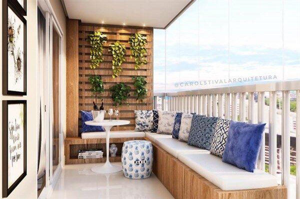 Wooden Balcony Decoration Ideas