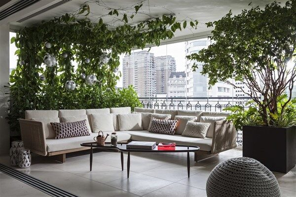 Closed Balcony Ideas with Two Modern Types
