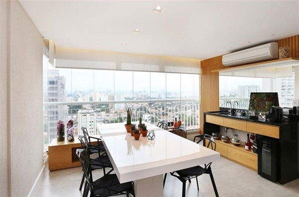Kitchen United with the Balcony: How to Arrange It Correctly