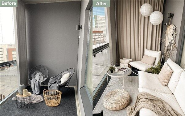 Balcony Before After: Creative Makeover Ideas